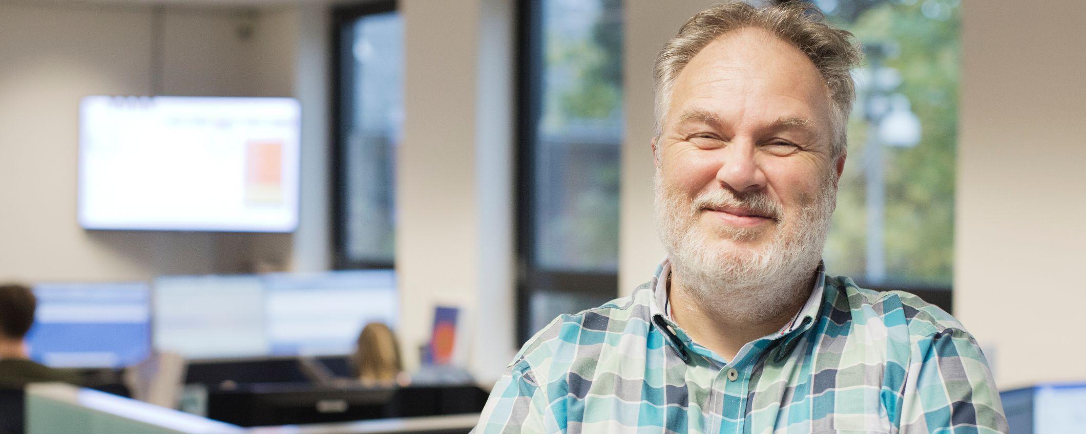 Ron Meijer Boltjes, medewerker klantcontact Triodos Bank