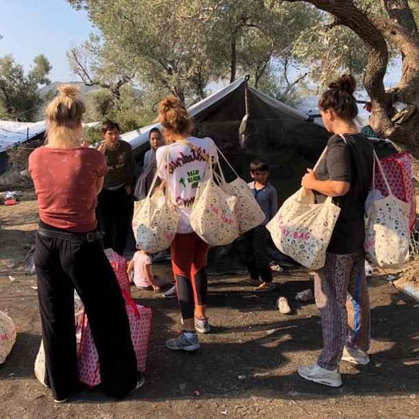 Tienduizenden sinaasappels voor Lesbos